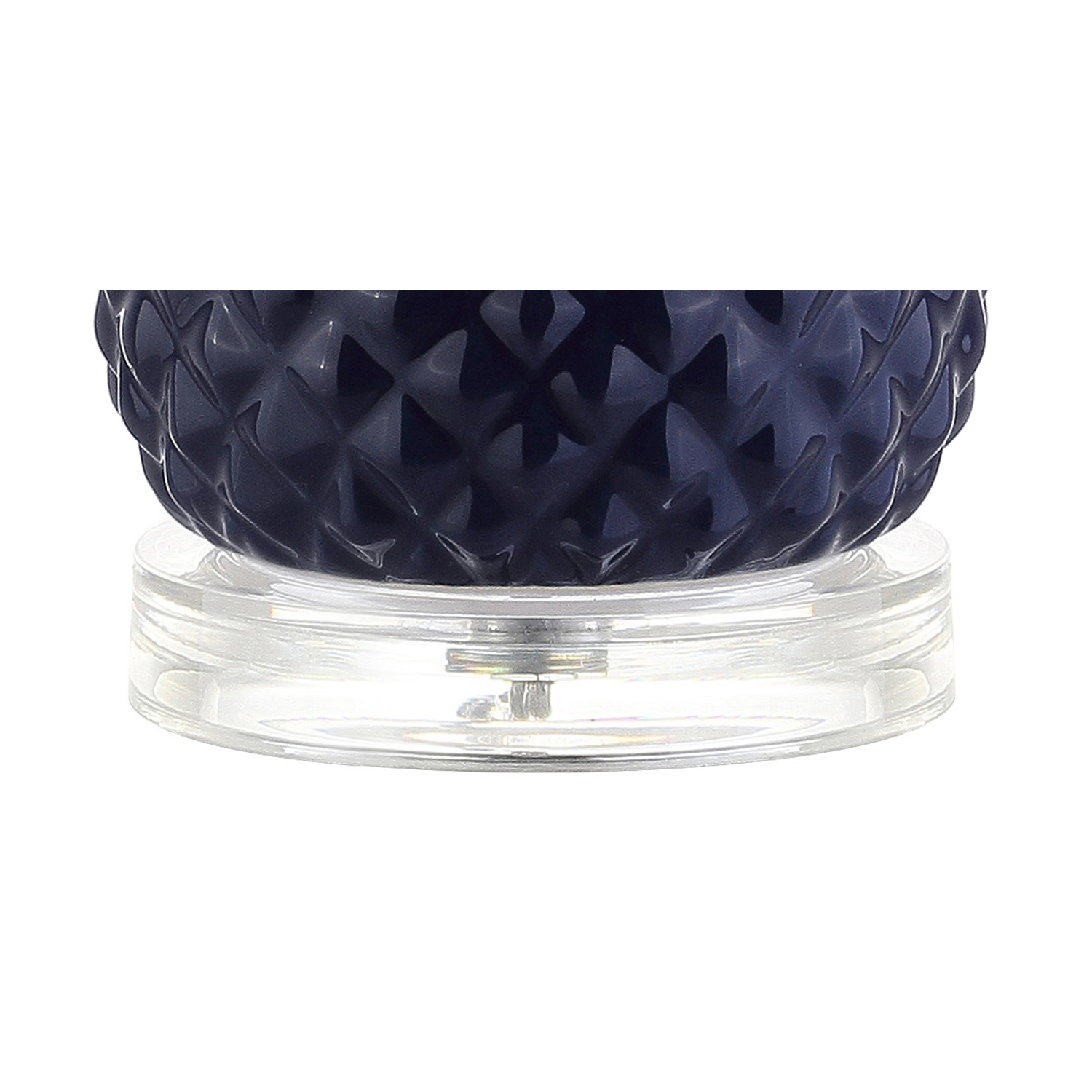 Navy & Gold Pineapple Table Lamp - Pier1 Imports