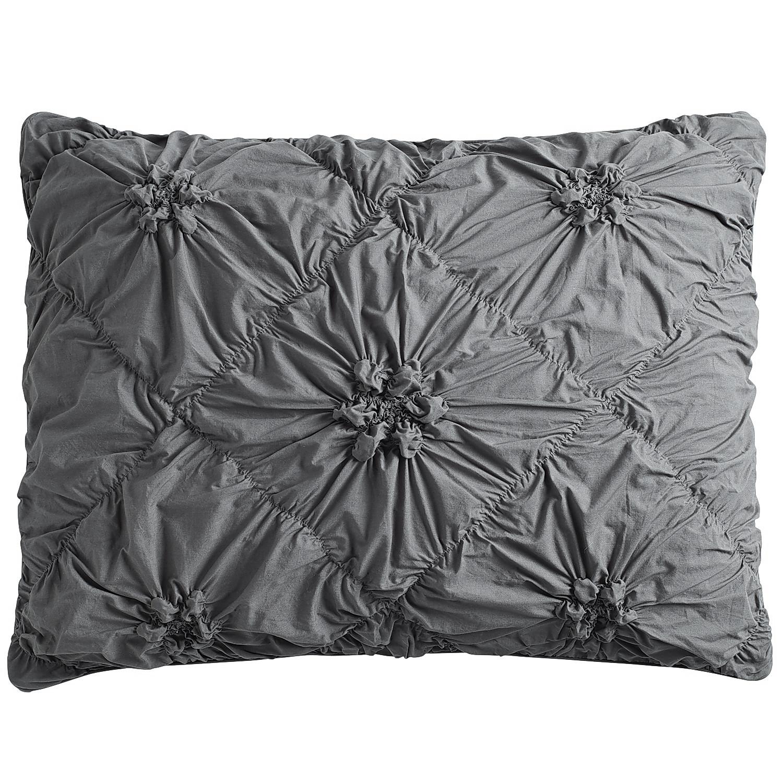 Savannah Charcoal Standard Pillow Sham - Pier1