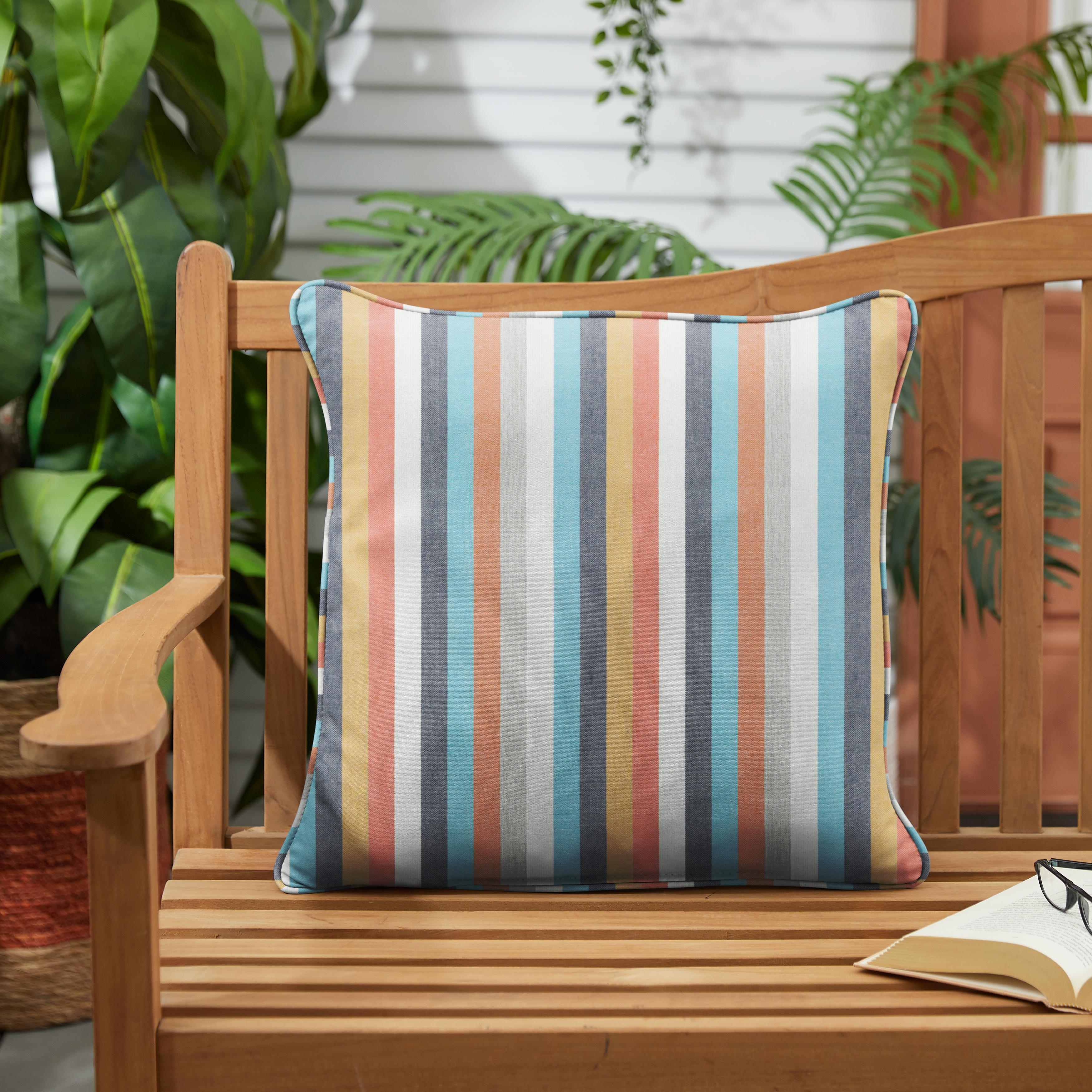 Sunbrella Surround Sunrise Set of 2 Outdoor Pillows