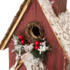 Snowy Church Birdhouse