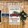 Christmas Truck Wall Decor