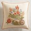 Terracotta Pumpkin Cart Pillow