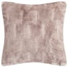Faux Fur Chinchilla Gray Pillow