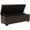 Large Brown Marilyn Storage Bench
