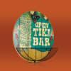 Open Tiki Bar Bottle Opener with Cap Catcher