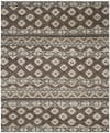 Cody 319 8' X 10' Brown Wool Rug