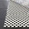 Grid Pad 2' X 14' White Polyester Rug