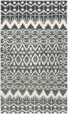 Gypsy 606 3' X 5' Black Wool Rug