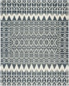 Gypsy 606 8' X 10' Black Wool Rug