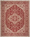 Laguna 137 3' X 5' Red Polypropylene Rug