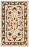 Morgan 251 4' X 6' Ivory Wool Rug