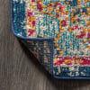 Bohemian FLAIR Boho Vintage Medallion Cream/Orange Area Rug