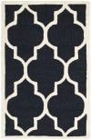 Black Rug 2' x 3'
