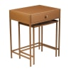Fatima Bronze Nesting Tables Set of 2