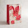 Vogue Poinsettia Gift Bag