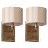 Catena Gold Wall Sconces Set of 2