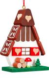Christian Ulbricht Ornament - Gingerbread House