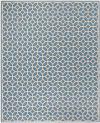 Blue Polypropylene Rug 8' x 10'