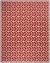 Red Polypropylene Rug 9' x 12'