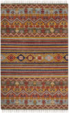 Multicolored Wool Rug 8' x 10'