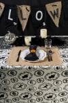 Halloween Portrait Tablecloth 52x52