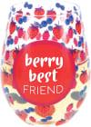 Best Friend - Stemless Wine Glass