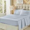 Light Blue King 4Pc. Sheet Set