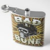 Bad to the Bone Stainless Steel Liquor Flask