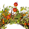 Apples and Berries Artificial Fall Harvest Wreath