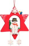 Christian Ulbricht Ornament - Snowman Star