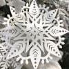 Led Snowflake Ornament