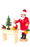 Incense Burner - Santa at Table