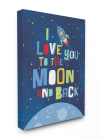 Outer Space Love Wall Art