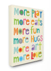 More Play Wall Art