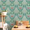 Scandi Floral Removable Wallpaper