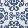 Nonwoven Polyester Cube Scroll Nautical Blue Square 11x11x11 Set/2