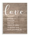 Love Defined Plaque Art