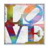Graffiti Love Plaque Art