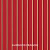 Sunbrella Knife Edge Set of 2 in Harwood Crimson Outdoor Pillow