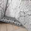 Silver 4-Piece Full Comforter Set