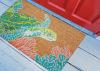 Sea Turtle Natural Doormat 18