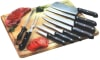 10-Piece Kitchen Knife Set with Cutting Board
