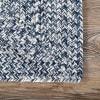 Braided Lefebvre Indoor/Outdoor 5' x 8' Light Blue Rug