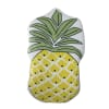Pineapple Shaped Fleece Throw Pillow