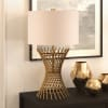 Otho Antique Brass Table Lamp