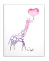 Giraffe Love Wall Plaque Art