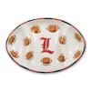 Louisville Ceramic Football Tailgating Platter