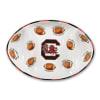 South Carolina Ceramic Football Tailgating Platter