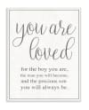 You Are Loved Wall Plaque Art