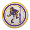 LSU Multicolor Melamine Dinner Plate Set